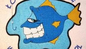 rybka haftowana